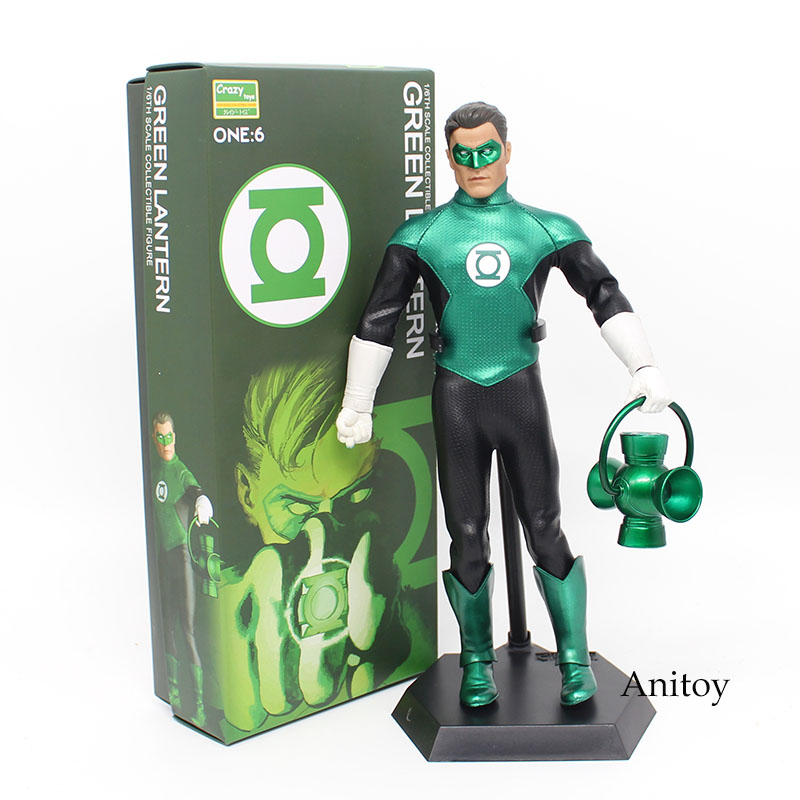 Crazy Toys The Green Lantern 1/6th Scale PVC Action Figure Collectible Model Toy 32cm KT3876 action figure toys the flash man green lantern action figures collectible pvc model toy gift for kids 20cm