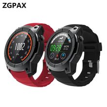 2018 GPS Esportes Relógio monitor de freqüência cardíaca 500 mAh Smartwatch ZX05 multi-modelo esporte relógio inteligente Para Android IOS huami amazfit bip