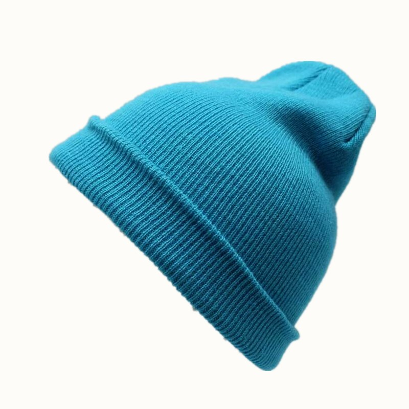 OZyc New 21 Colors Solid Unisex Beanie Autumn Winter Wool Blends Soft Warm Knitted Cap Men Women Skull Cap Hats Gorro Ski Caps