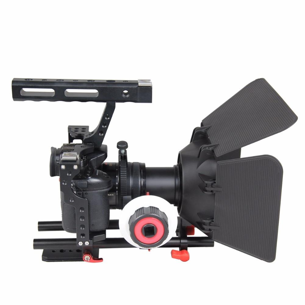 Profesionalus aliuminio fotoaparato vaizdo kameros įrenginio - Fotoaparatas ir nuotrauka - Nuotrauka 2