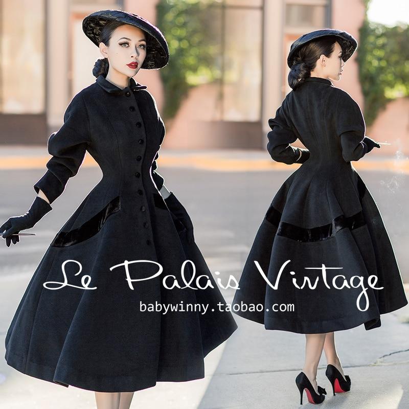 Aliexpress Com Buy Le Palais Vintage Winter Women 50s