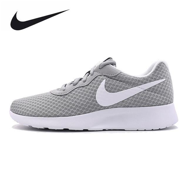 4755f78751586 ... inexpensive nike original new arrival tanjun mens running shoes roshe  run gray sneakers outdoor walkng jogging