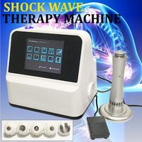 Physical Pain Therapy System Acoustic Shock Wave Extracorporeal Shockwave Machine For Pain Relief Reliever US/EU Plug