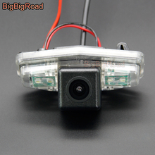 BigBigRoad Car Rear View CCD Camera For Honda Accord 7 8 2001 -2007 City Ciimo Crider Pilot Civic Europe Odyssey For Acura TSX