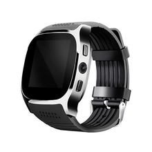Smart Watch T8 Smartwatch Bluetooth Support SIM TF Card With Camera Sync Call Message Men Women
