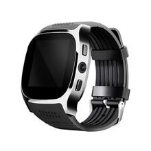 Smart Watch T8 font b Smartwatch b font Bluetooth Support SIM TF Card With Camera Sync