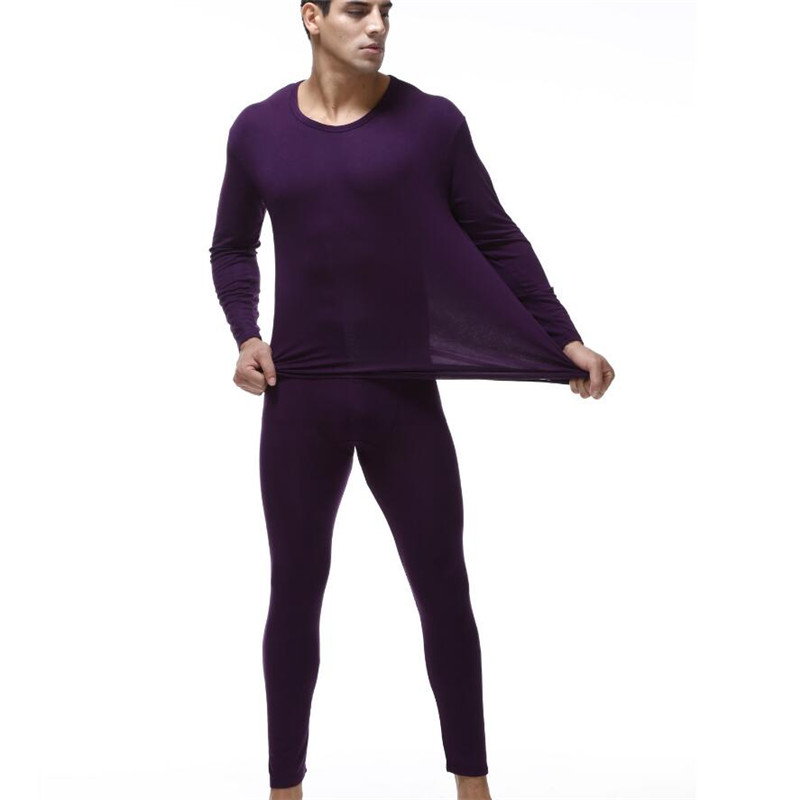 Men's Plus Size Thermal Underwear Base Man Underwear Set  Warm Suit Winter Cold