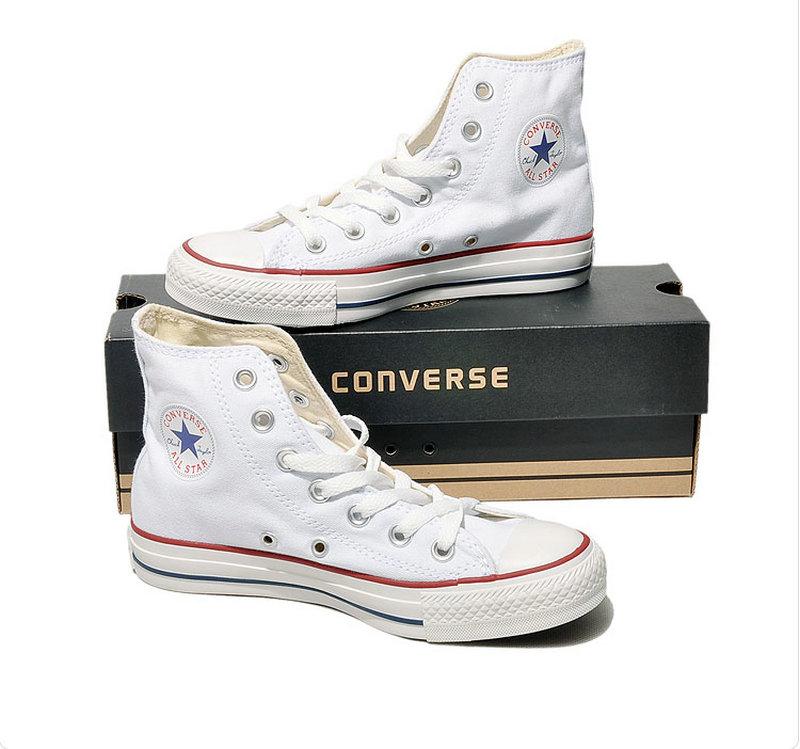 D'origine Converse all star chaussures hommes et femmes espadrilles de toile chaussures hommes femmes haute classique Planche À Roulettes Chaussures livraison gratuite - 5