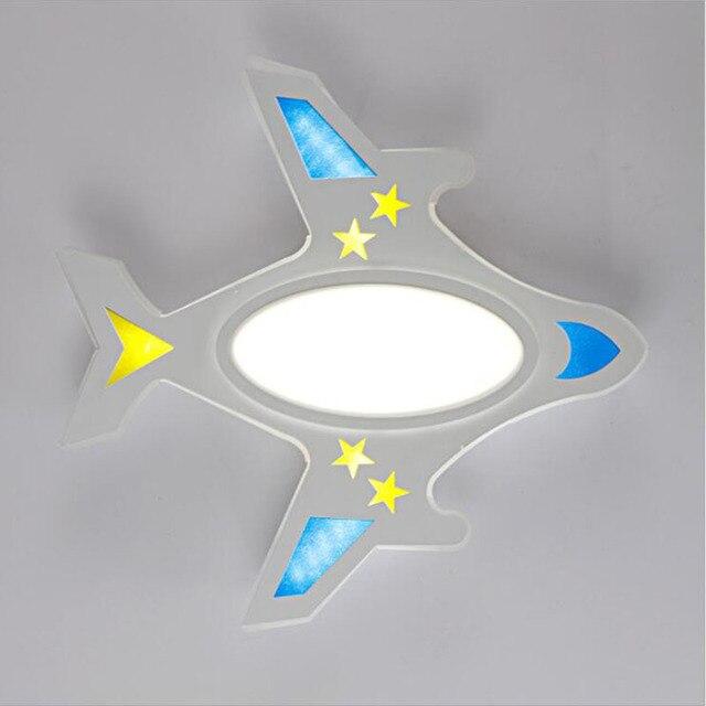 Einfache Kinder Lampe Led Deckenleuchte Moderne Wohnzimmer Lichter Cartoon  Schlafzimmer Lampe Home Beleuchtung Flugzeug Modell