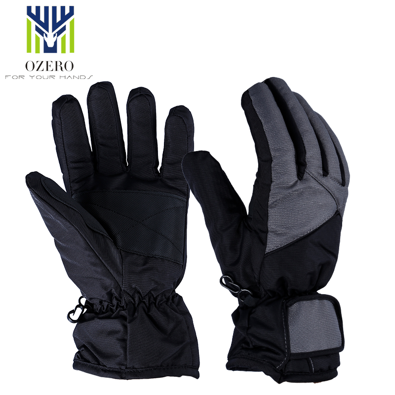 New Winter warm Gloves Ski Skiing Snowmobile Motorcycle Riding Sports Windproof Waterproof For Mens Woman Gloves 9001