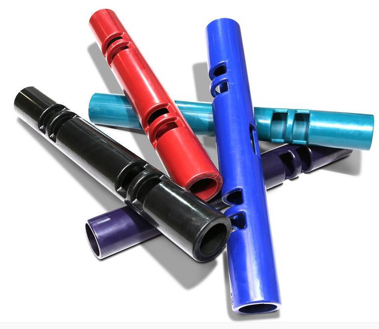 Tubo de culturismo de goma multiusos ViPR cilindro de soporte de peso rodillo de Fitness