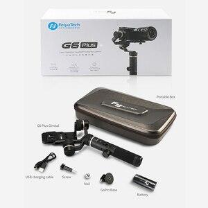 Image 5 - FeiyuTech G6 Plus 3 Axis G6P مثبت انحراف محمول باليد لكاميرا عديمة المرآة GoPro تحميل الهاتف الذكي 800g Feiyu G6P
