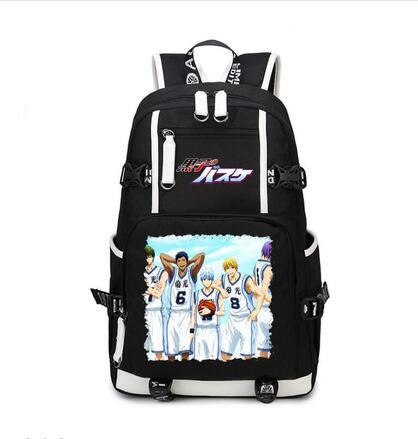 High Q Anime Kuroko No basket SCHOOL STUDENT backpack for teenagers unisex large capacity backpacks High Q Anime Kuroko No basket SCHOOL STUDENT backpack for teenagers unisex large capacity backpacks