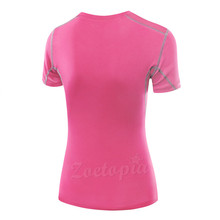 Professional T-Shirt For Women Fitness Running Sports Short-sleeved Quick Drying Tank Top