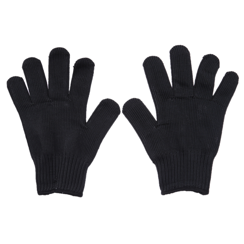 Wholesale 1 Pair Cut Metal Mesh Anti cutting Breathable font b Gloves b font New Arrival