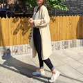Winter Autumn Spring Show Thin Women Cardigan Long Sleeved Knitting Sweater Thick Sweater C6N6191Y