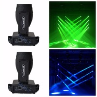 2pcs/lot Sharpy Beam 200 Moving Head Beam Light touch screen 16CH 17 gobos14 colors 5r beam moving head light