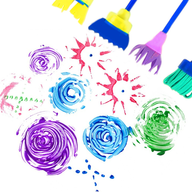 Painting Sponge Brushes DIY 12PCs