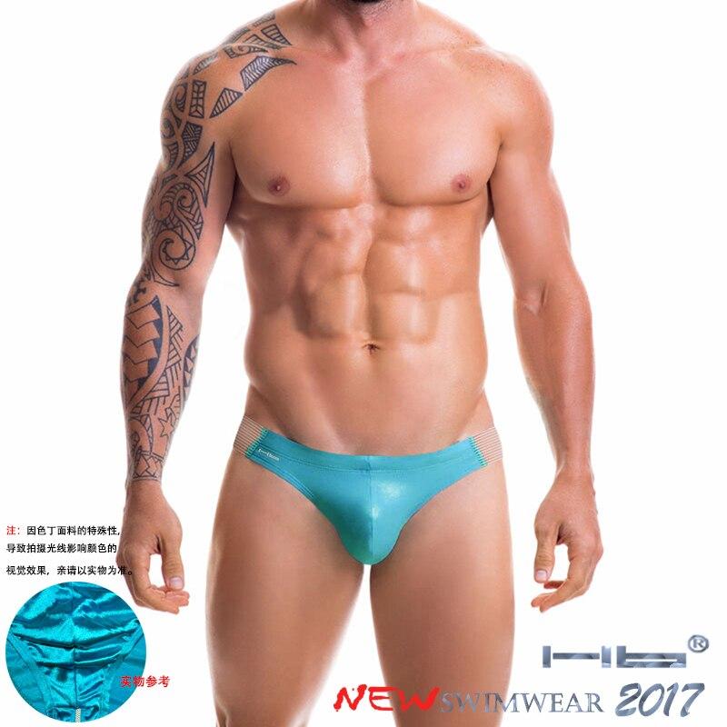 Hb Brand Bikini Men U Design Sexy Big Penis Pants Light Briefs Clothes cool Chinese Design