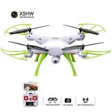 SYMA X5HW Selfie RC الطائرة بدون طيار مع كاميرا Wifi انتقال FPV RC Quadcopter هليكوبتر وسيطروا على النائية Dron لعب للأطفال الأولاد