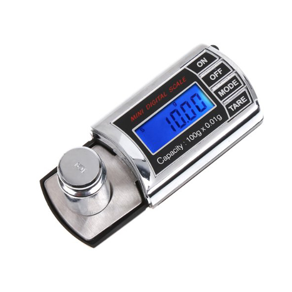 20g/0.001g LCD Digital Pocket Scale Mini Electronic Jewelry Scale Precision Balance Scale Weighing Tools(China)