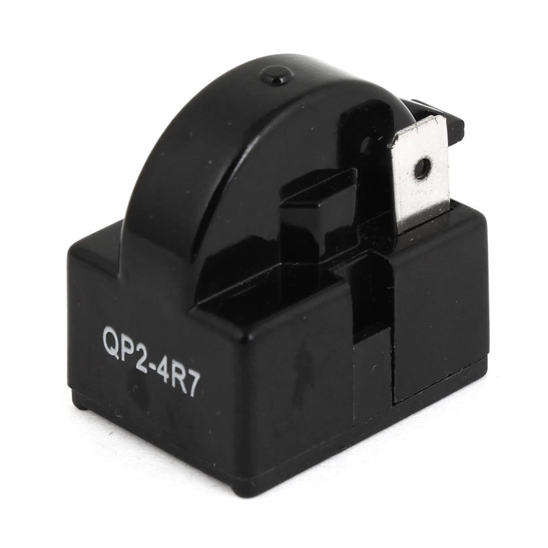 4 7 ohm 1 pin refrigerator ptc starter relay black in. Black Bedroom Furniture Sets. Home Design Ideas