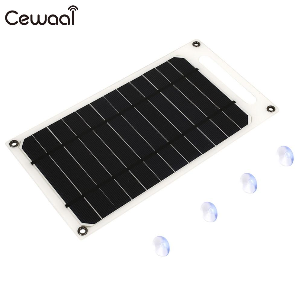 <font><b>Solar</b></font> <font><b>panel</b></font> 5V10W USB <font><b>Solar</b></font> Power <font><b>Panel</b></font> System DIY Battery Cell Charger Module Portable Panneau Solaire Energy Board image