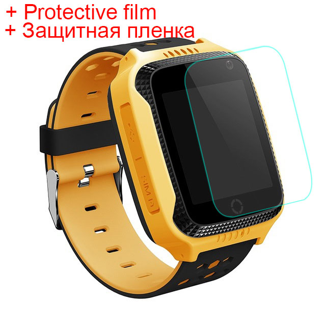 Original Q528 Y21 with Protective film Kid <font><b>GPS</b></font> Smart Watch With Flashlight Baby Watch SOS Call Location Device <font><b>Tracker</b></font> Safe