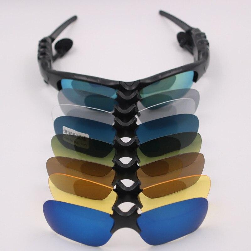 35785879471e3 GutsyMan Esporte Wireless Stereo Headset Bluetooth 4.1 Telefone de Condução  Óculos de Sol mp3 Equitação Binóculo Com colorido lente Sol em Fones de  ouvido ...