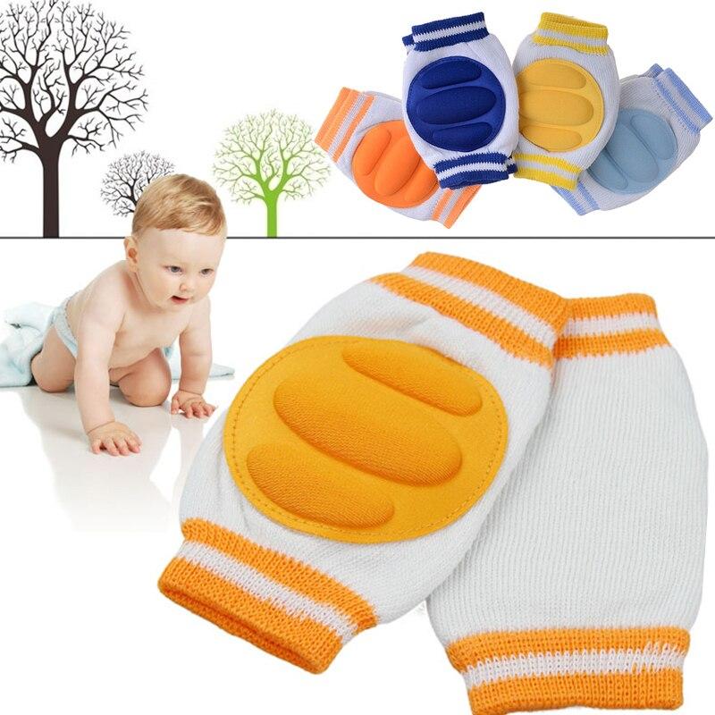 1 пара удобные детские дети малышей Ползучая Детская безопасность протектор колена Caps