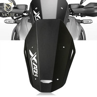 For Honda XADV 750 X ADV X ADV 750 2018 2019 Airflow Adjustable Windscreen Wind Deflector Motorcycle CNC Windshield Brackets