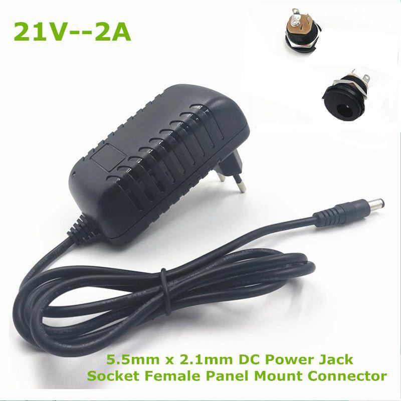 21V2A Lithium Battery Charger Series 5 100-240V 21V 2A Battery Charger Of Good Quality For Lithium Battery