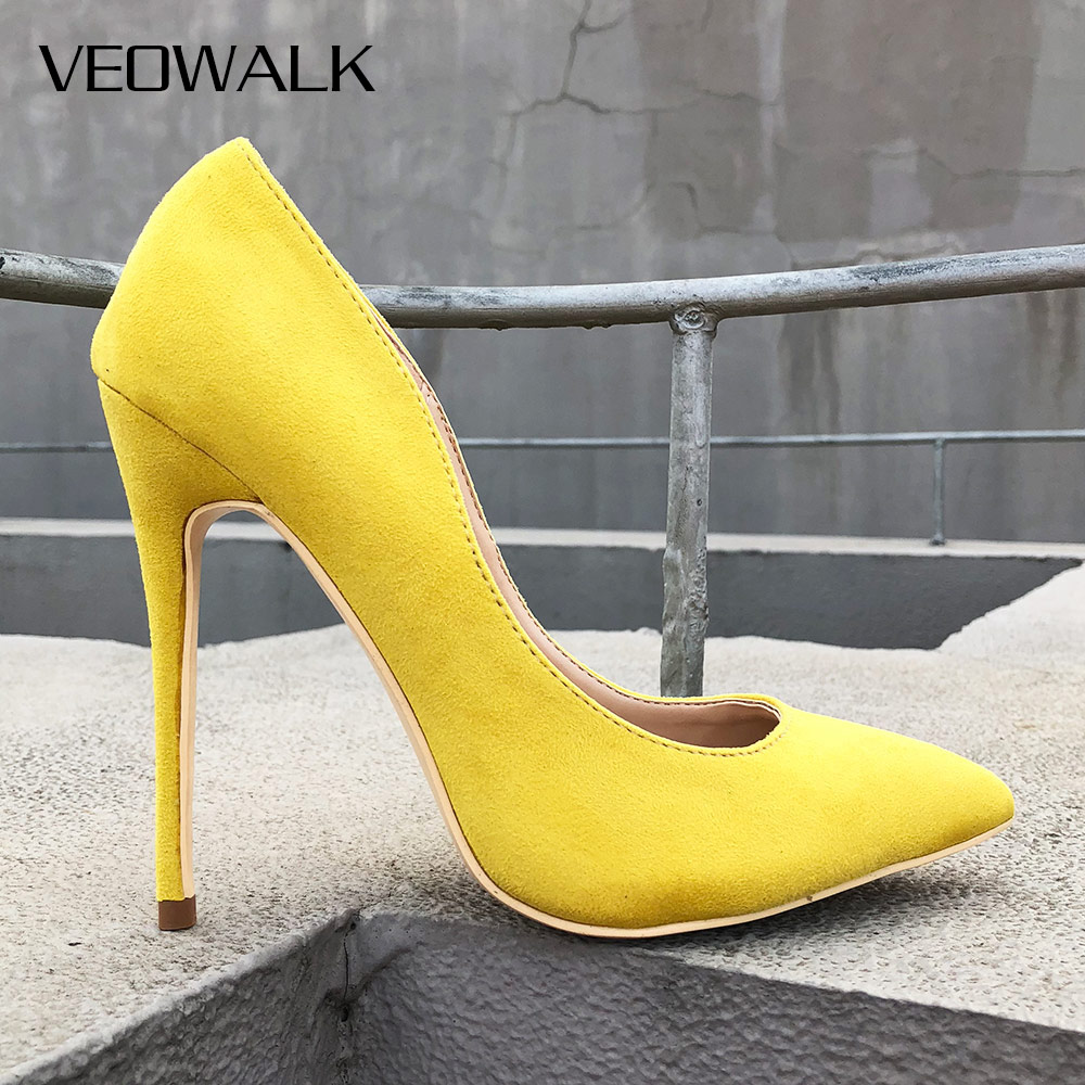 Veowalk Spicy Mustard Women Sexy