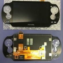 Черный ЖК-дисплей для ps vita 1000 psvita psv 1000 с сенсорным экраном без рамки