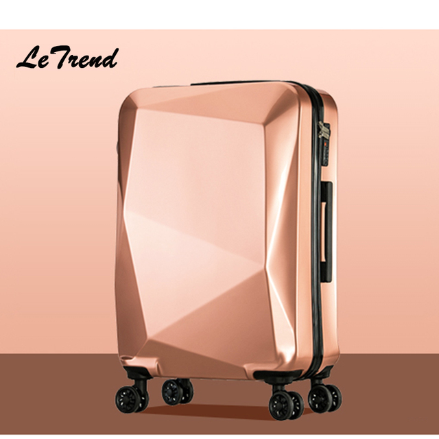 Aliexpress.com : Buy Letrend Unique Design Women Suitcases Wheel ...