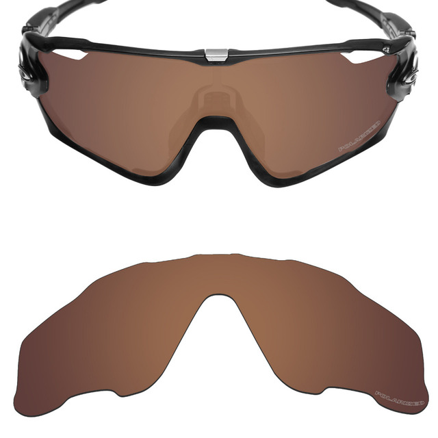 4b148a054d4 Mryok+ POLARIZED Resist SeaWater Replacement Lenses for Oakley Jawbreaker  Sunglasses Bronze Brown