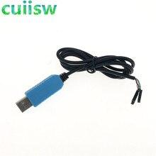 10 Pcs PL2303 Ta Usb Ttl RS232 Converteren Seriële Kabel PL2303TA Compatibel Met Win Xp/Vista/7/8/8.1 + Freeship