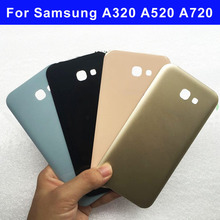 Housing For Samsung Galaxy A3 2017 A320 Back Cover A5 2017 A520 Battery Rear Door For Samsung Galaxy A7 2017 A720 Battery Cover