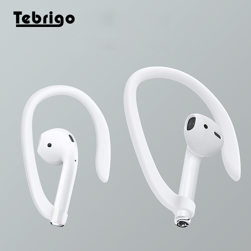 Protective Earhooks Holder Secure Fit Hooks for Airpods Apple Wireless Earphone Accessories Silicone Sports Anti-lost Ear Hook