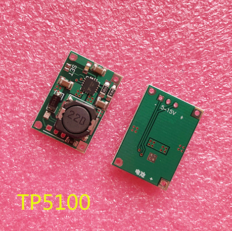 10PCS TP5100 double single lithium battery charge management compatible 2A rechargeable lithium plate10PCS TP5100 double single lithium battery charge management compatible 2A rechargeable lithium plate