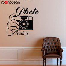 Free Shipping Photo Studio Digital Camera Photograph Wall Decals Vinyl Self-adhesive film Wall Sticker Interior Decoration CA04 цены