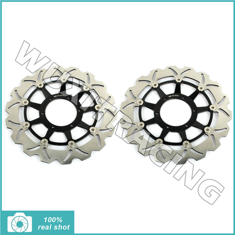 New Front Brake Disc Rotor for CBR 600 RR Hannspree 03-16 CB 1000 R / ABS CBR 1000 RR 04-16 CB 1300 F SF SuperFour S Super 1284