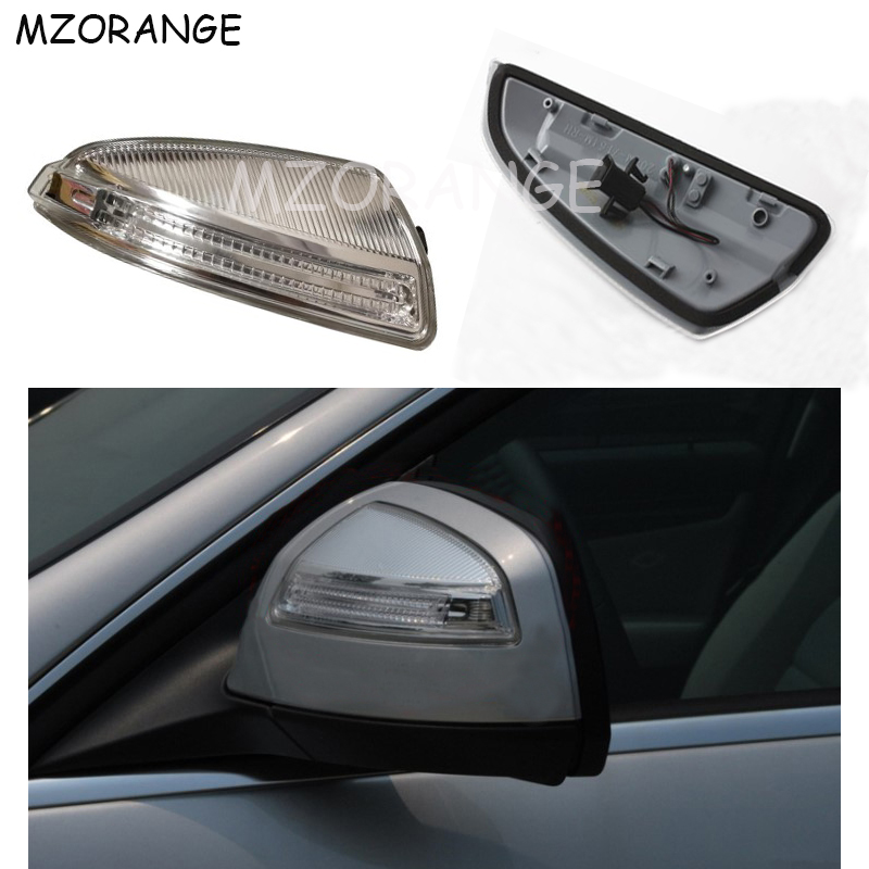 LED Rear View Mirror Signal Light For Mercedes Benz W204 C250 C300 C350 C63 Side Door