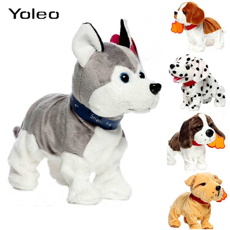 Electronic Pets Sound Control Robot Dogs Bark Stand Walk Interactive Electronic Dog Electronic Pets Toys For Baby Kids Gifts
