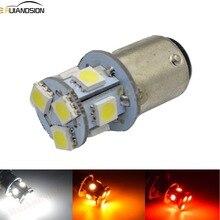 цена на 1pc 6V 12V 24V S25 1157 BAY15D BA15D Led Light Bulb P21/5W Moto Car Reverse Backup Light Brake Light Turn Parking Signal Lamp