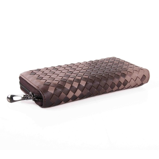 Creative Casual Braided Leather Women's Wallet