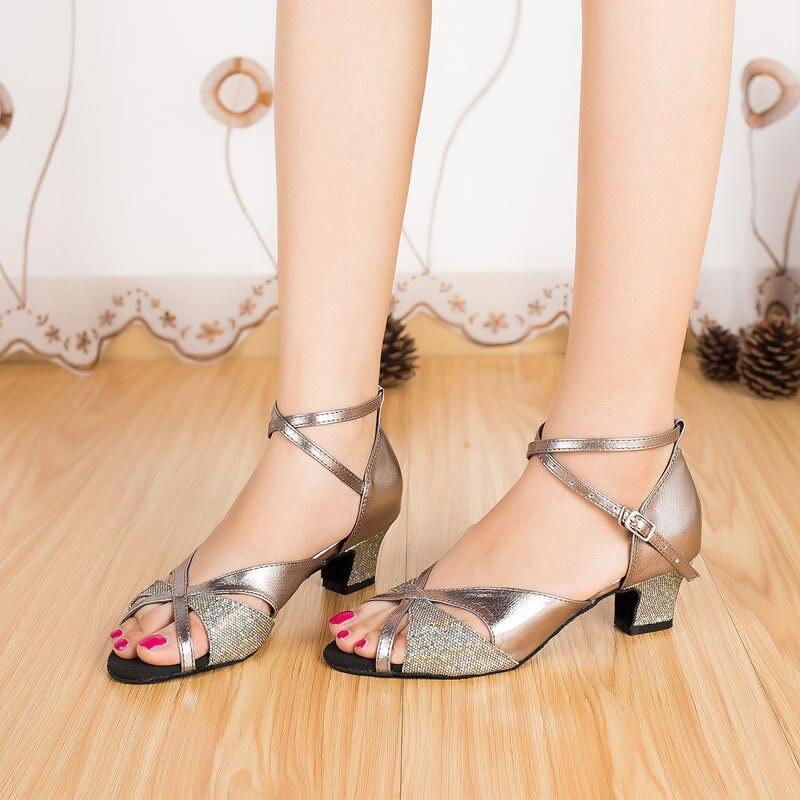 Zapato Tacon Ancho Bajo