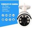 Visão noturna Câmera IP Sem Fio 720 P HD wi-fi à prova d' água ourdoor Mega Alarme P2P Onvif Rede IR-CUT Gravação fábrica