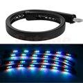 7 Colores LED Bajo Resplandor Del Coche Del Sistema Underbody Neon Lights Kit AU