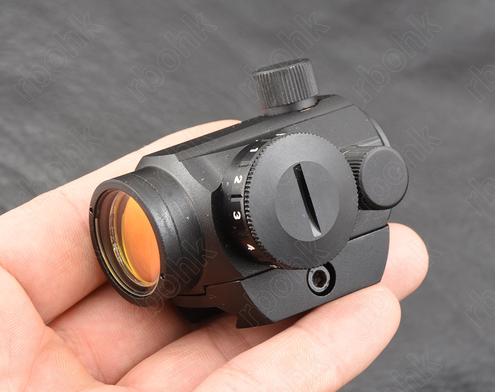 Tactical Micro Mini 1X20 Red Dot Sight Scope For Picatinny  Weaver Rail Mount Base All Aluminum Alloy M3796